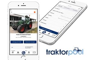 Die traktorpool App