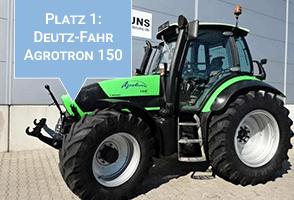 Das meistgesuchte Deutz-Fahr Modell auf traktorpool: Deutz-Fahr Agrotron 150