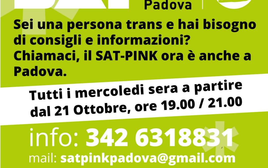 Servizio Accoglienza Trans Padova – SAT