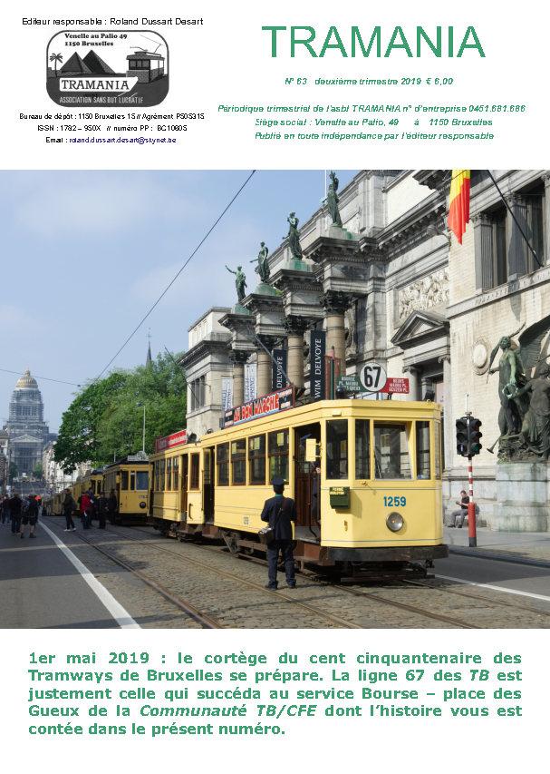 TRAMANIA asbl - sponsoring, buurtspoorwegen restauratie