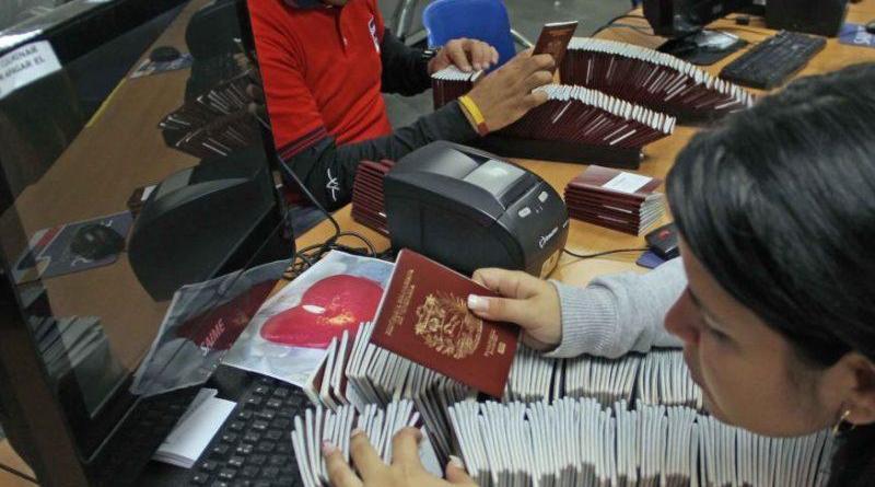 Saime: Trámite especial de pasaporte cuesta 122.400 bolívares