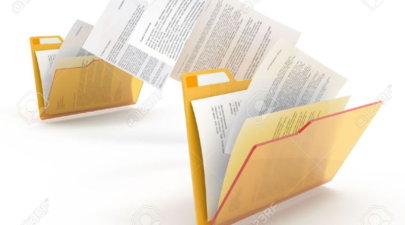 11617121-traslado-de-documentos-entre-carpetas-3d-ilustraci-n-foto-de-archivo