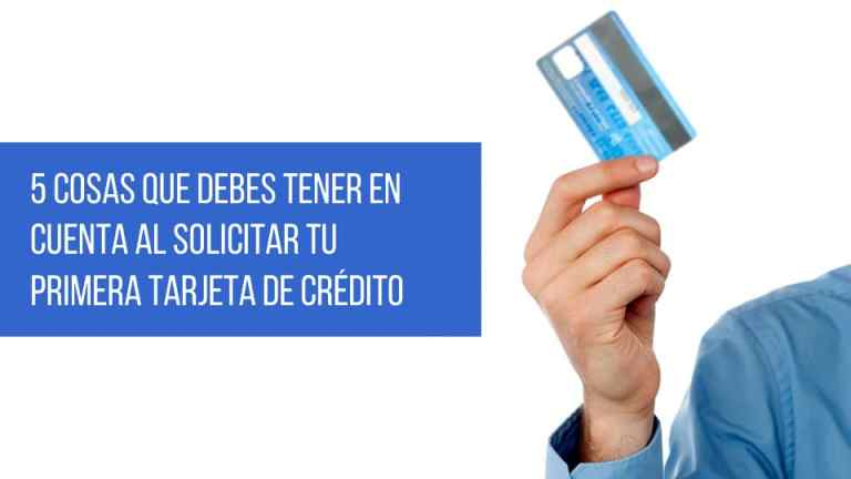 tips para solicitar tu primera tarjeta de crédito en Colombia