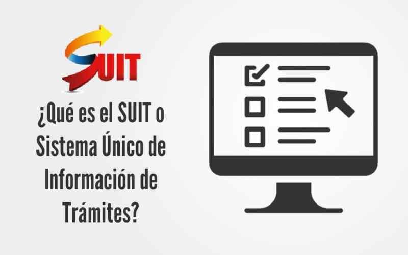 SUIT – Sistema Único de Información de Trámites