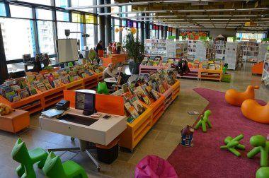 Dział dla dzieci w bibliotece