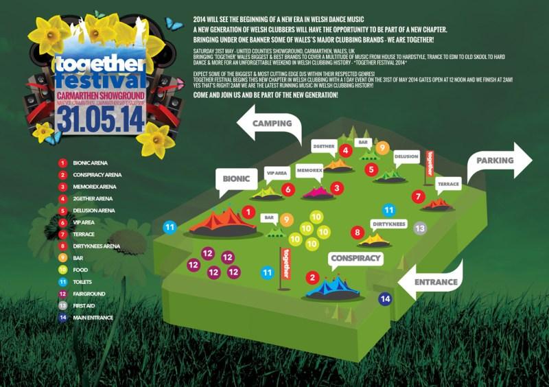Festival Site Map