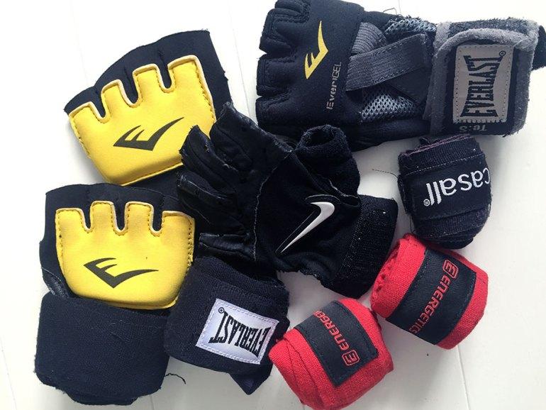 combat handskar
