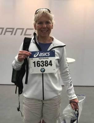 Uthämtning nummerlapp Stockholm Marathon