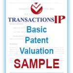 Basic Patent Valuation