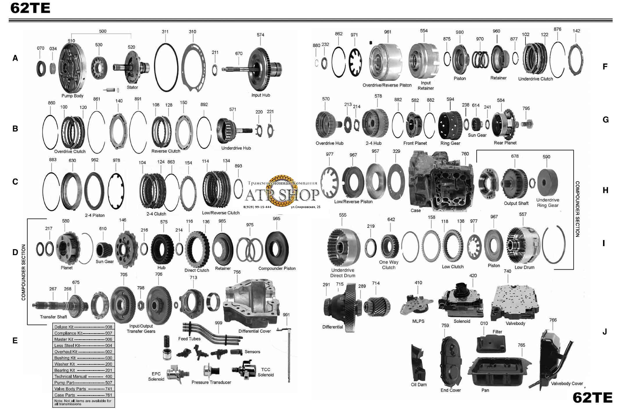 62te Valve Body Diagram 62te Free Engine Image For User