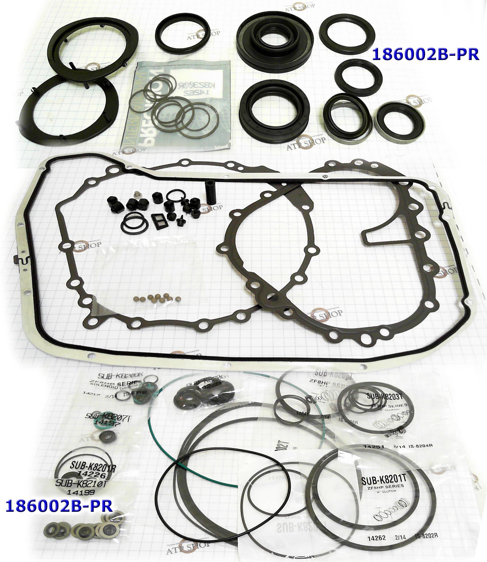 РемКомплект прокладок и сальников overhaul kit zf8hp55a