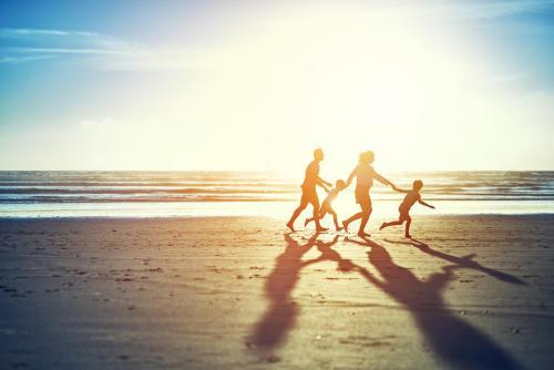 férias com a família