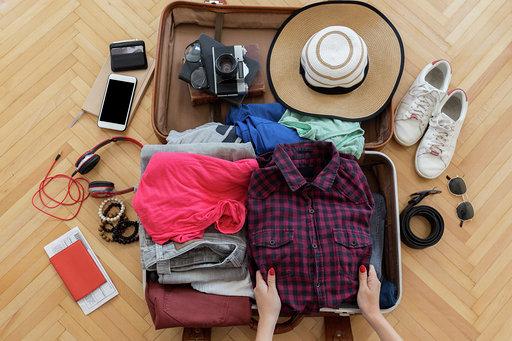 o que levar em uma mala