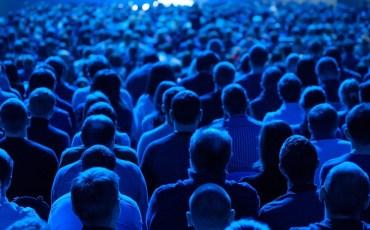 Imagem de uma palestra.