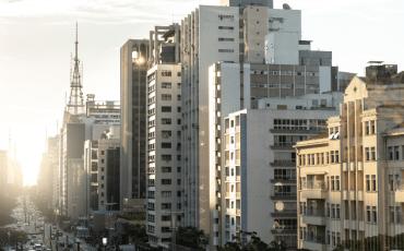 Região central da cidade de São Paulo