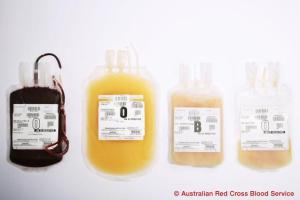 Blood Components used in blood therapy