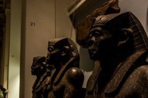 Professional Photography Stone Sculptures From Kemet Egypt Of King Senwosret III In British Museum London