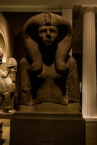 Professional Photography Stone Sculpture From Kemet Egypt Of Queen Ahmose-Merytamun In British Museum London