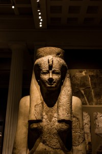 Professional Photography Stone Sculpture From Kemet Egypt Of Goddess Hathor In British Museum London