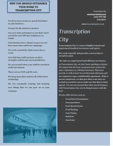 Transcription Services Medical transcription 2