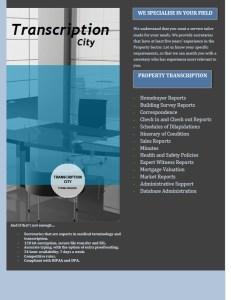 Transcription City Property Services 1