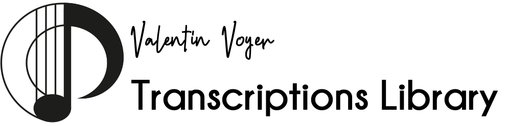 Transcriptions Library