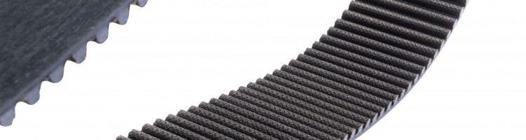 NEW SYNCHROFORCE CARBON Durable Rubber Timing Belt