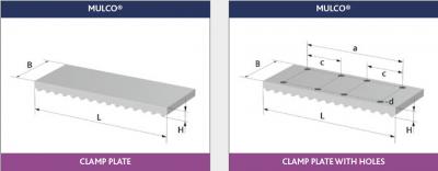 Mulco® Belt Clamp Plates
