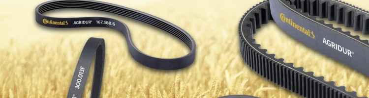 ContiTech AGRIDUR® Power Transmission Agricultural Belts
