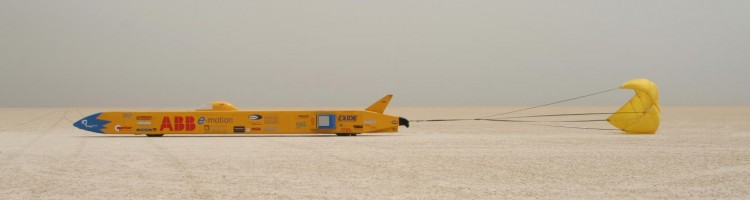 Transdev and e=motion UK land-speed record attempt