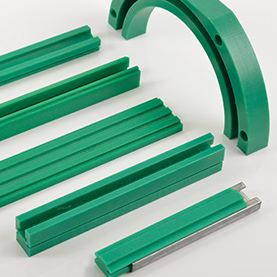 Peeled Wear Strips & Metal C-Profiles