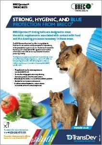 BRECOprotect Food Belts Leaflet