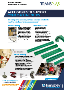 Machine Building & Replacement Accessories Leaflet