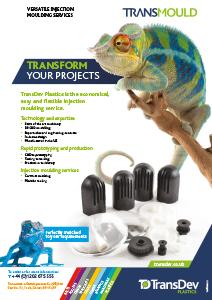 Transmould Injection Moulding Leaflet