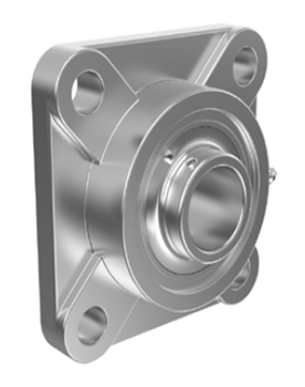 SF Series Stainless Steel Bearing Housing Units with Inserts
