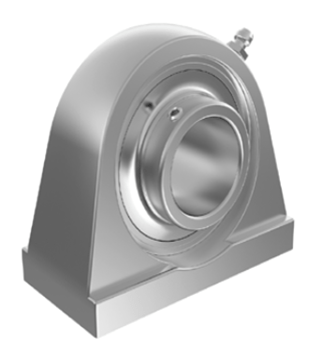SPA Series Stainless Steel Bearing Housings Units with Inserts