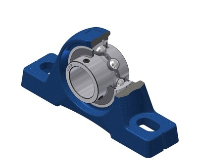 UCPE 200 Series Cast Iron Bearing Housing Units with Steel Inserts