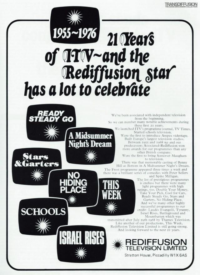 1976 Rediffusion