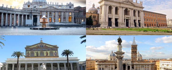Discovery the most beautiful Rome churches. Jubilee 2015/2016