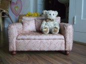granny sofa, doll sized