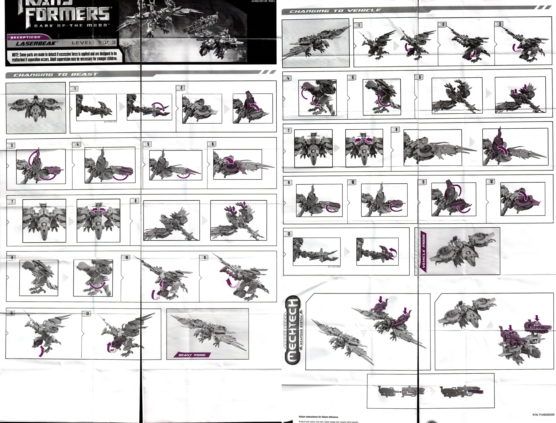 Deluxe Class Laserbeak Transformers Movie