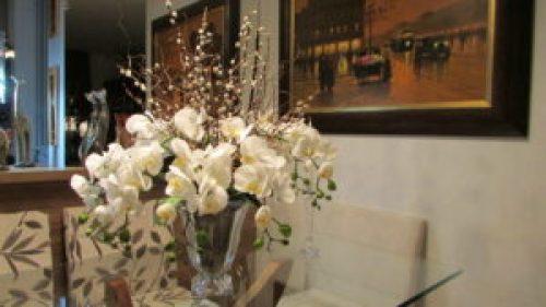 arranjos artificiais para decoração