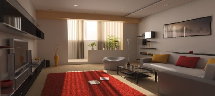 Decoracao de sala de estar bonita e simples