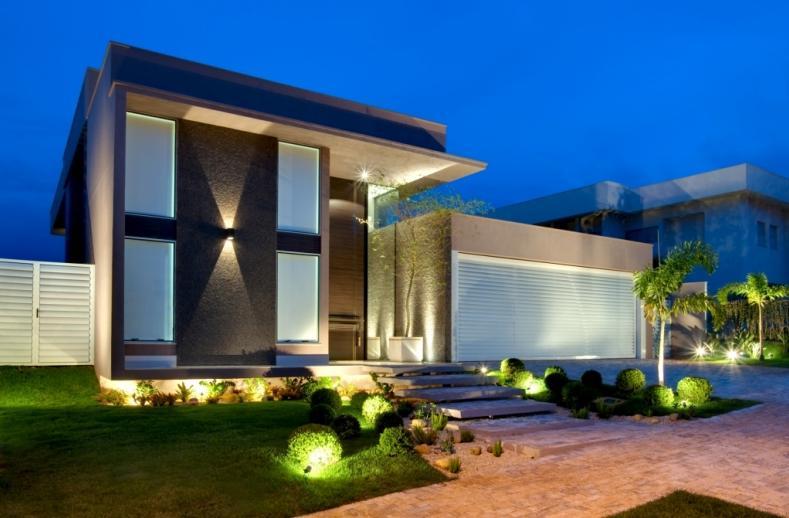 Cores de fachadas de casas modernas dicas e tend ncias for Fachadas de casas rojas modernas