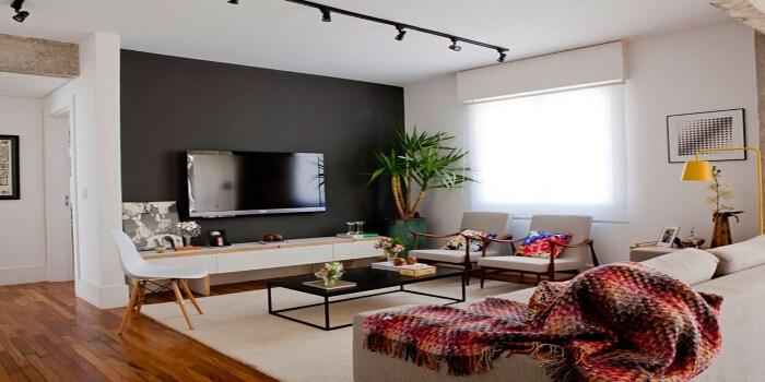 Porque Amamos Decoração Contemporânea de Apartamento