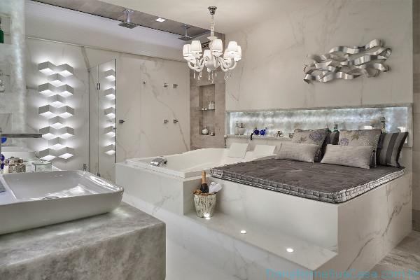Banheiro de luxo – Como decorar 10 dicas de decoração como decorar como organizar