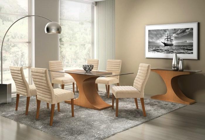 Cadeiras modernas para sala de jantar – Estofadas, Design (1) dicas de decoração fotos