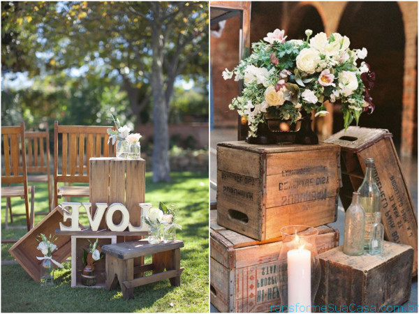 Casamento Rústico – Como decorar 6 dicas de decoração como decorar como organizar