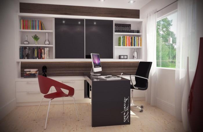 Escritório profissional – Como decorar, dicas, fotos (5) dicas de decoração fotos