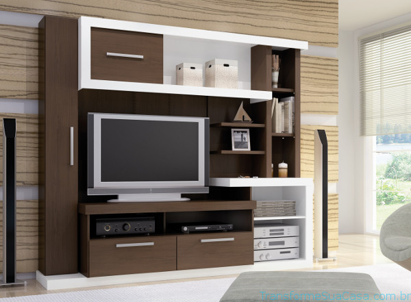 Estante para sala – Como escolher 3 dicas de decoração como decorar como organizar